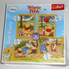 Winnie the Pooh 4 in 1 Jigsaw Puzzle Pack Trefl 34062 35 48 54 70 Pieces NIB Walt Disney