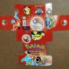 Pokemon Lot Cardbox Card Box Wizards of the Coast Cracker Jack Prize Sticker Tattoos Nintendo