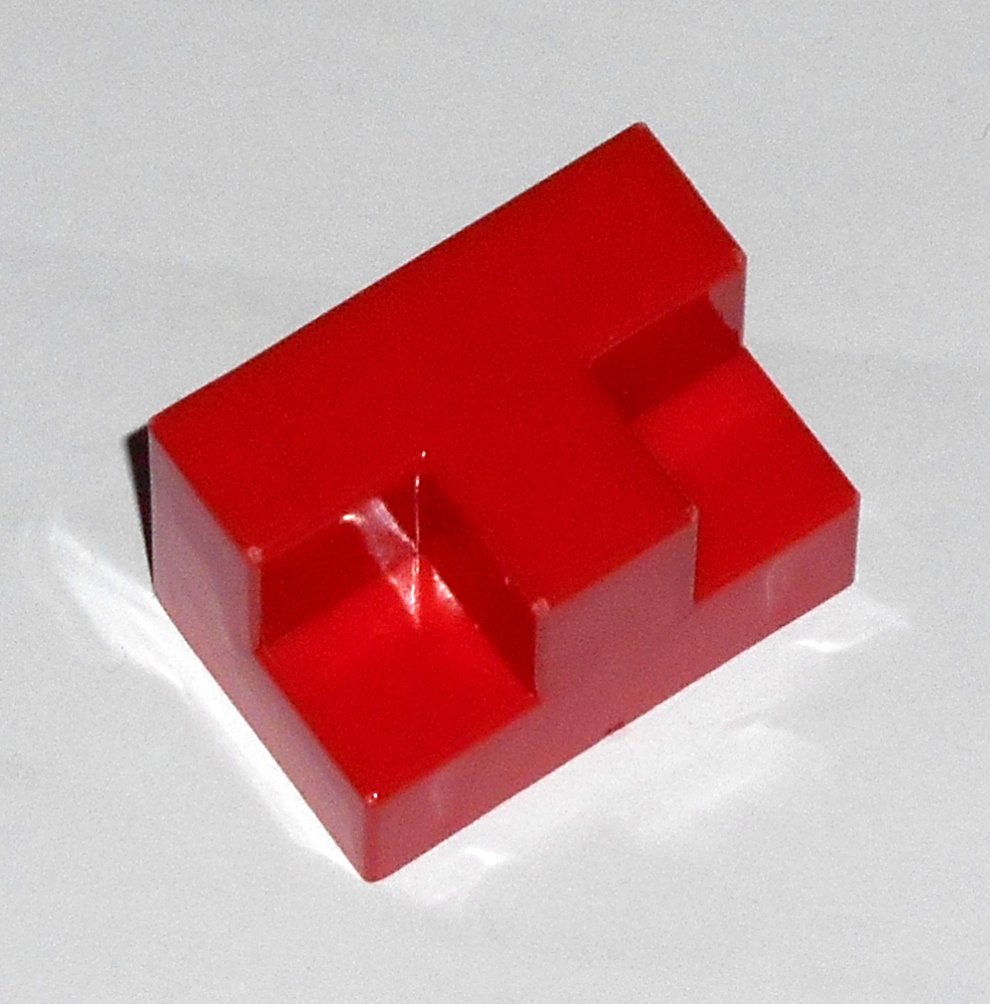 #15R Vintage 1975 Superfection Game Red Replacement Shape Part Block Piece Lakeside 8375