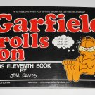 Garfield Rolls On His Eleventh 11th Book Cat Paperback Soft Cover Odie PAWS Jim Davis
