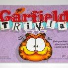 The Garfield Trivia Book Cat Paperback Soft Cover Odie PAWS Jim Davis