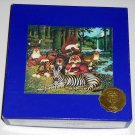 Elms Original Handcut Wooden Mahogany Jigsaw Puzzle Chumbuddies Charles Wysocki 24 Piece COMPLETE