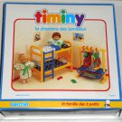 Twin's Bedroom Timiny Berchet 660001 Doll Furniture La Chambre des Jumeaux 3 Little Ones Family 1992