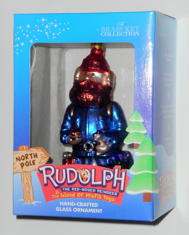 Yukon Cornelius Hand Crafted Glass Ornament Rudolph Amp The