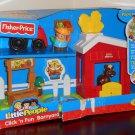 Fisher Price Little People Click 'N Fun Barnyard Playset R6929 FP 2009 NIB