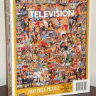 Television History 1000 Piece Jigsaw Puzzle TV  White Mountain 10312 NIB 2006