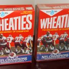 Washington Redskins Super Bowl XXII 22 Wheaties Cereal Box Lot Hogs 1988 NFL Champions Doug Williams