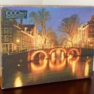 Night Scene 1000 Piece Jigsaw Puzzle Amsterdam Golden 4777-47 NIB SEALED