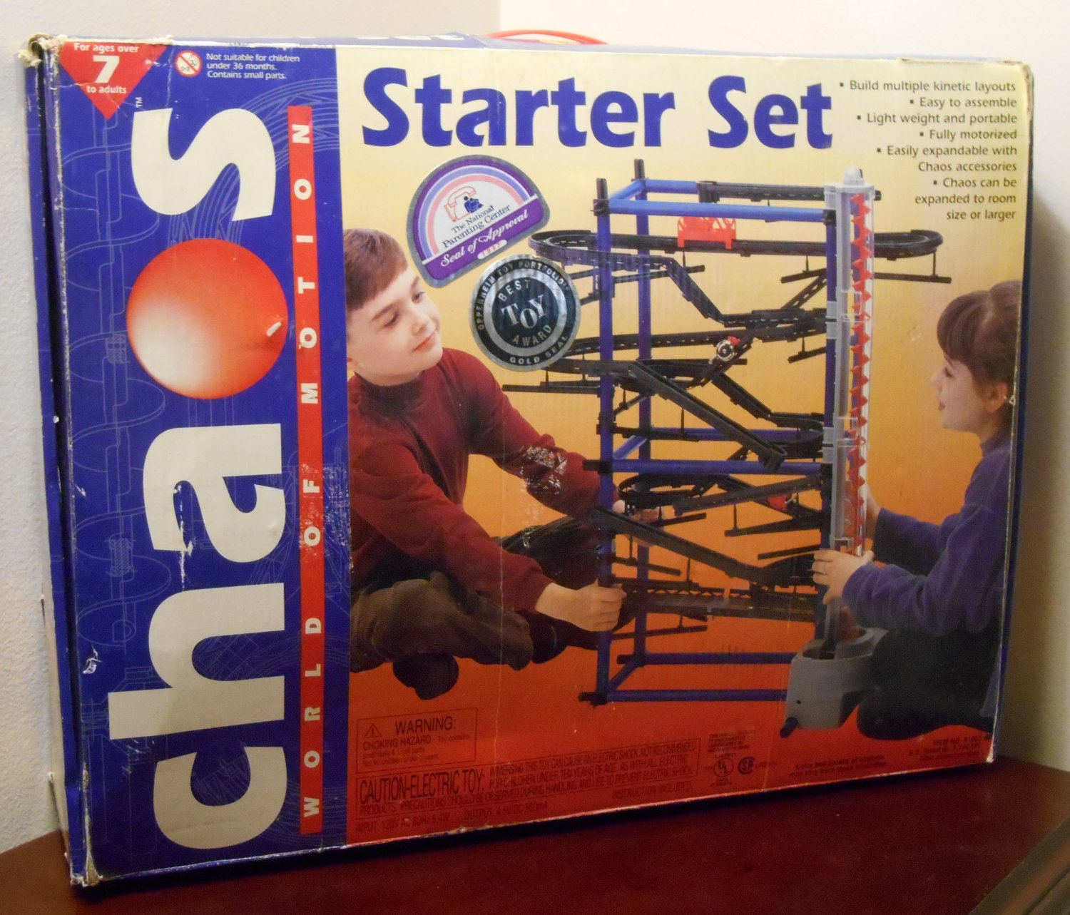 Chaos World of Motion Building Starter Set 81003 Parts Physics Educational Learning Toy