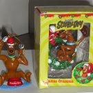 Scooby Doo Christmas Tree Ornaments Baseball Eating Food Bowl Toboggan Holiday Trevco Hanna Barbera