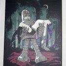 Futurama Bender Robot Forbidden Future Canvas Print 14 x 18 Picture Planet