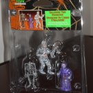 Halloween Tree Decoration Set of 3 Lemax 32757 Mummy Grim Reaper Skeleton Spooky Town Collection