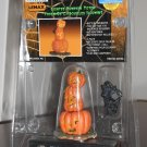 Lighted Pumpkin Totem Lemax 04472 Spooky Town Collection Battery Operated 2000 Halloween