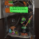 The Witch's Cauldron Figurine Magic Potions Lemax 42840 Spooky Town Collection 2004 Halloween