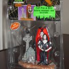 Out For A Bite Figurine Vampire Lemax 62204 Spooky Town Collection 2006 Halloween