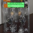 Halloween Tree Decoration Set of 6 Lemax 42844 Black Cat Skull Spooky Town Collection 2004