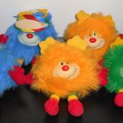 Rainbow Brite Sprite Plush Lot Hallmark Lucky Spark Champ