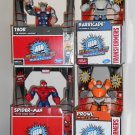 Hasbro Gaming Battle Masters Lot Thor Spider-man Prowl Barricade Marvel Transformers NIP 2013