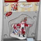 Lemax Christmas Village 62221 Santa's New Suit Claus Polyresin Figurine 2006 NIP