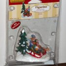 Lemax Christmas Village Accessory 62304 Downhill Thrills Polyresin Figurine 2006 NIP