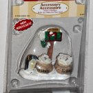 Lemax Christmas Village Accessory 64463 Santa's Mailbox Mail Box Penguins Polyresin Figurine 2006