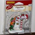 Lemax Christmas Village Accessory 62211 Mail Elf Mailbox Polyresin Figurine 2006 NIP