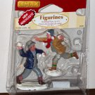 Lemax Christmas Village Accessory 62308 Snowball Fun Polyresin Figurines 2006 NIP