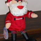 Singing Santa Claus Talking 8 Inch Plush Doll Toy Rudolph Gemmy 2004