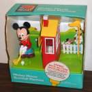 Mickey Mouse Golf Candy Gumball Dispenser Animated Motion Leaf Walt Disney