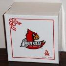 Louisville Cardinals Victory Airplane Plane Porcelain Ornament 2007 Danbury Mint NCAA