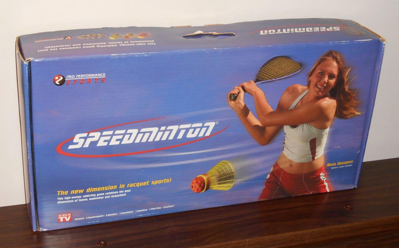 Speedminton Maria Sharapova The New Dimension In Racquet Sports Pro Performance Sports