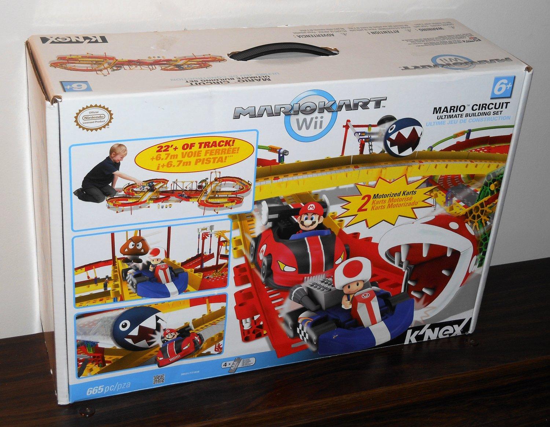 K'NEX Mariokart Kart Lot Wii 38501 Mario Circuit Ultimate Building Set Yoshi vs Stone Bowser 38436