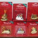 MerryBrite Merry Brite Christmas Village Figurines Accessory Lot of 12 NIP