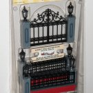 Lemax Village 54303 Lighted Wrought Iron Fence Set of 5 Accessory 4.5v 2005 NIP