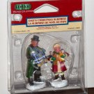 Lemax Christmas Village Collection 42880 Dad's Christmas Surprise Polyresin Figurines 2004 NIB