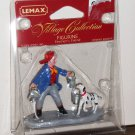 Lemax Christmas Village Accessory 52032 Firemen's Friend Dalmatian Polyresin Figurine 2005 NIP