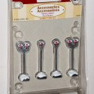 Lemax Christmas Village 64480 Parking Meters Set of Four 2006 NIP