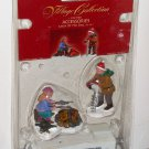 Lemax Village Collection Figurines Set of 2 14673 Catch of the Day Lighted Accessories 3v 2001 NIP