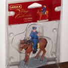 Lemax Village Collection 32723 Stop Please Policeman Horse Polyresin Figurine 2003 NIP