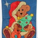 Boyds Bears The Friendship Flag Collection 27 x 39 Christmas Nylon Applique Decorative Garden