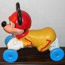 Vintage Toddler Mickey Mouse Ride-On Toy Mattel Walt Disney