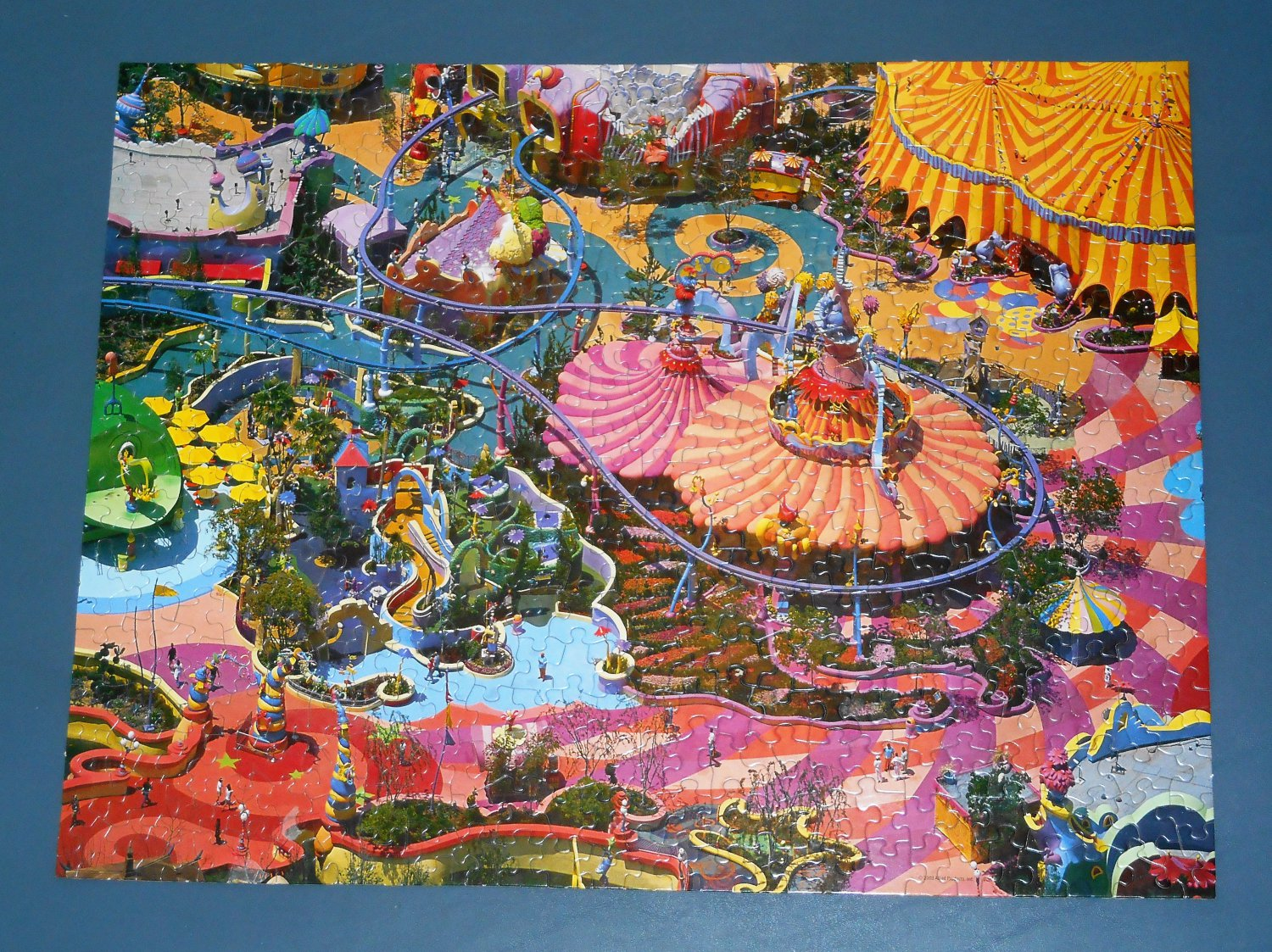 Crazy Carnival 500 Piece Springbok Jigsaw Puzzle 1JIG01326 COMPLETE