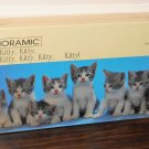 Kitty Kitty Kitty Springbok 700 Piece Jigsaw Puzzle Panoramic Series PZL9801 NIB