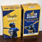 Greg Vaughn Bobblehead Bobble Head Resin Figurine Lot of Two Milwaukee Brewers 2016 Pepsi MLB