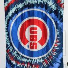 Chicago Cubs Cloth Banner Flag 28 x 42 Burst Baseball MLB