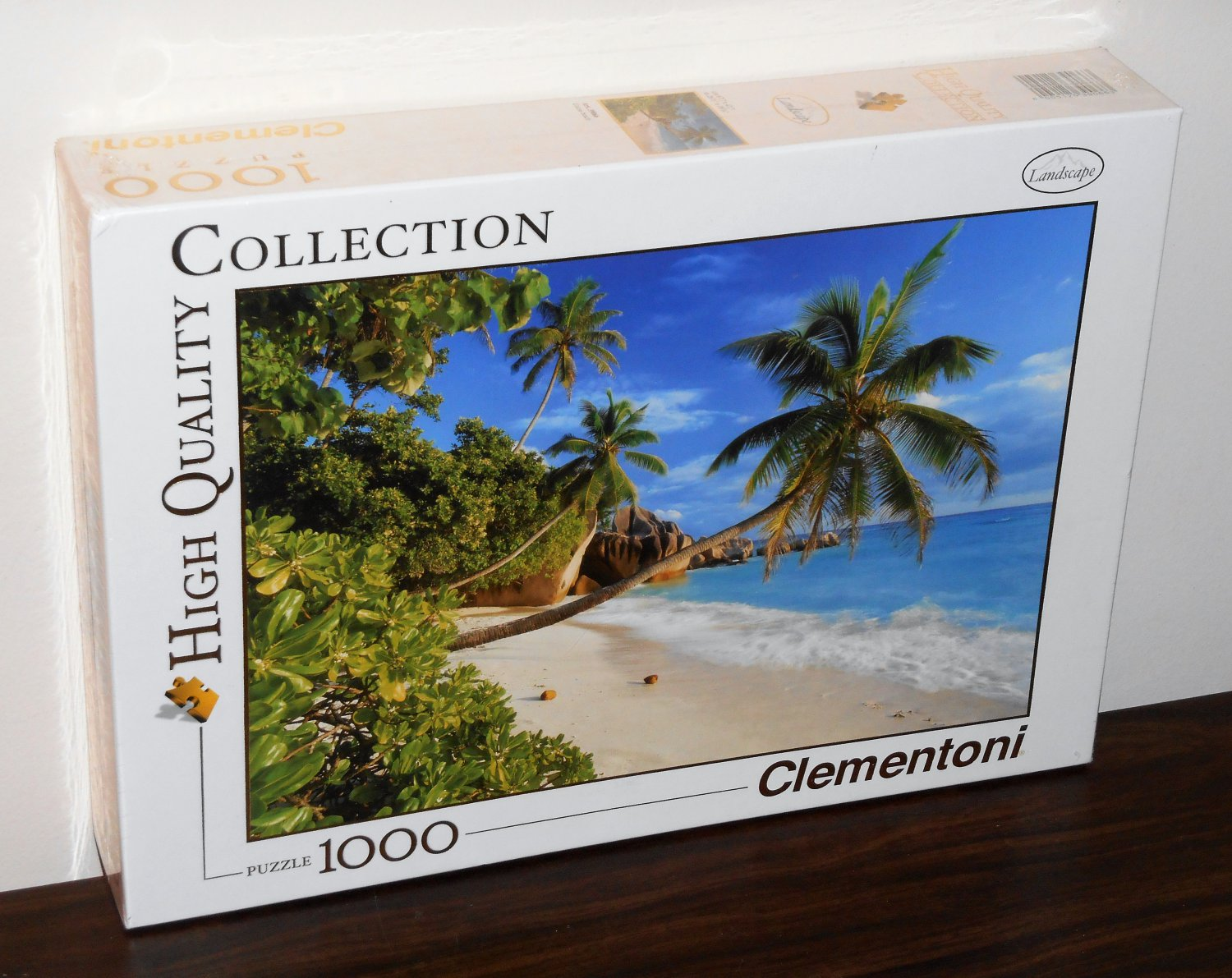 Clementoni Cocoa Beach 1000 Piece Jigsaw Puzzle High Quality Collection Landscape NIB