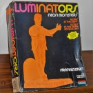 Luminators Neon Orange Monsters Frankenstein Model Kit 1619 Monogram Universal Studios Unbuilt