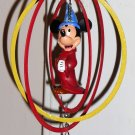 Mickey Mouse Fantasia Holiday Ornament Sorcerer Rings Walt Disney