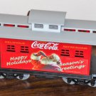 Replacement Caboose Car Coca Cola Santa Steam Train Set K-1309 Coke Claus Christmas Holiday K-Line