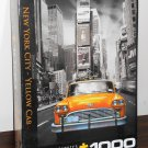 New York City Yellow Cab 1000 Piece Jigsaw Puzzle Taxi EuroGraphics NIB Factory Sealed